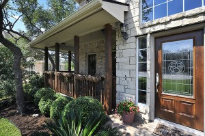 Front Porch Staging in Austin, Texas
