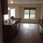 kitchen showcased through home staging in Austin