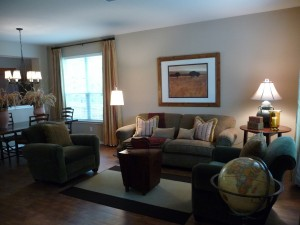 Austin, Texas – Staging to Live (Redesign) Helps Homeowners
